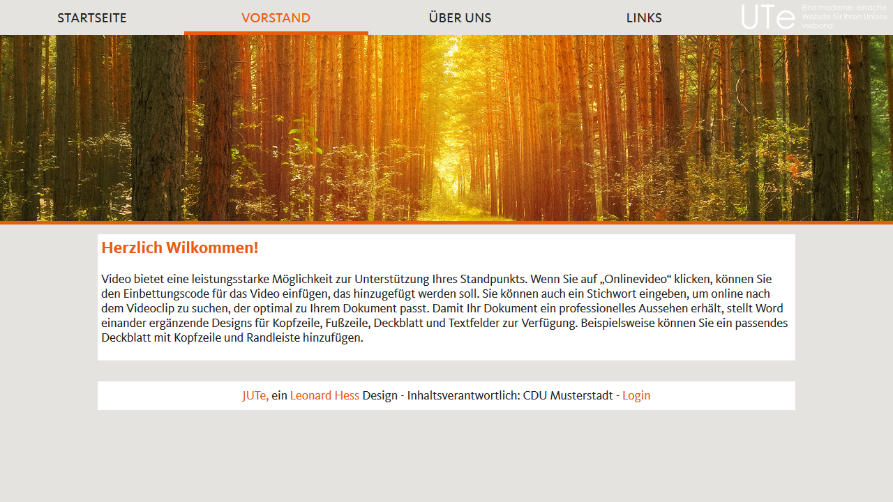 CDU Baden-Württemberg – Design
