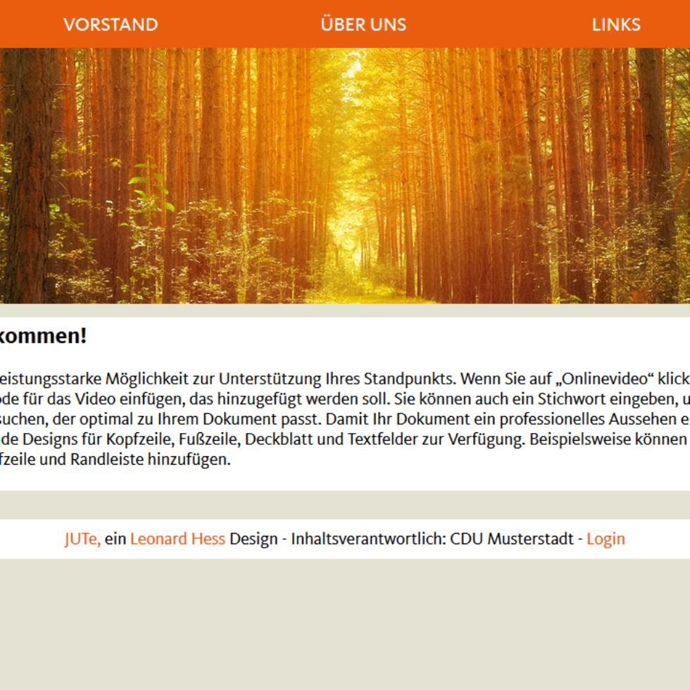 CDU 2005 – Design